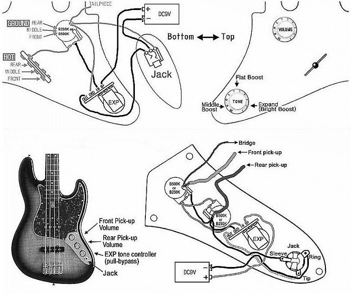 artecwiringexp artec onboard mod kit wiring info guitarheads wiring diagram at bayanpartner.co