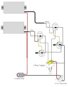 guitarheads pickup wiring active pickups Internet of Things Diagrams